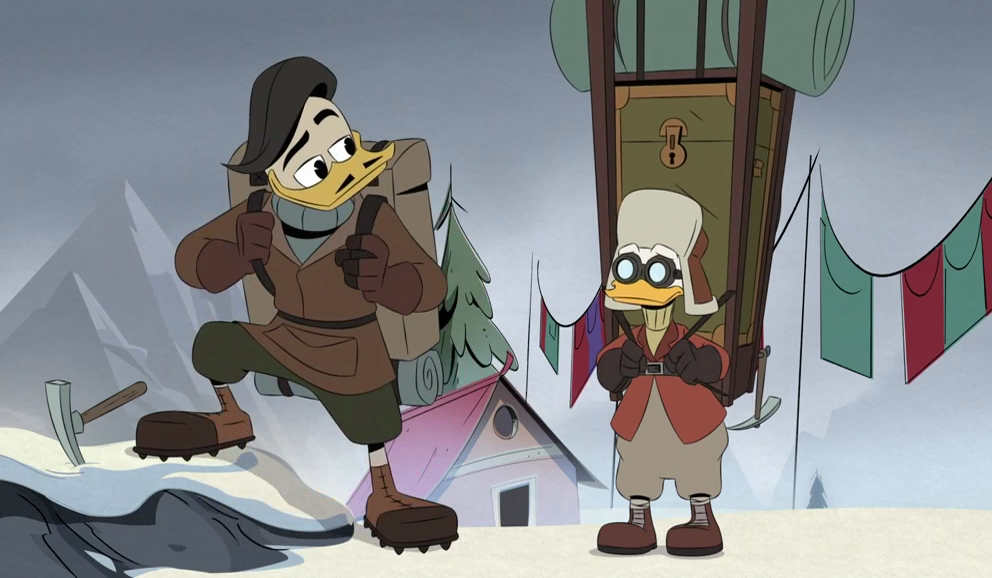 DuckTales, Episode 9: The Impossible Summit of Mt. Neverrest!