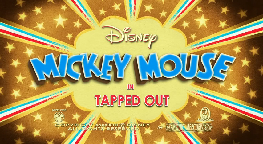 Mickey Mouse Short: Tapped Out - A Waltz Through Disney