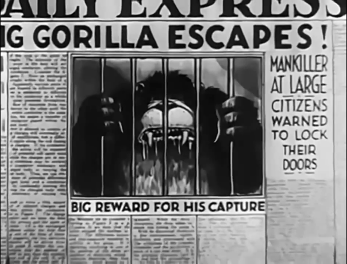 13 Nights of Happy Haunts: The Gorilla Mystery | A Waltz Through Disney