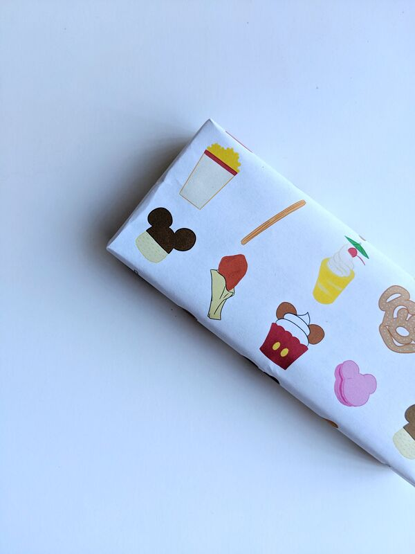 Free Printable Disney Foods Gift Wrap | A Waltz Through Disney