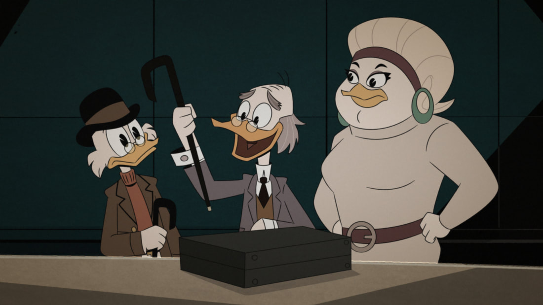 "DuckTales, Episode 17: ""From the Confidential Casefiles of Agent 22!"" 