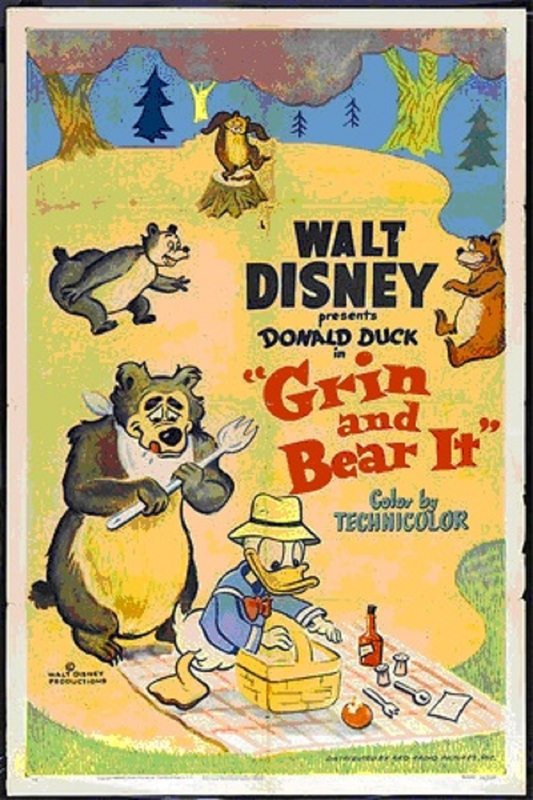 20 DAYS OF SUMMER, DAY 19: GRIN AND BEAR IT