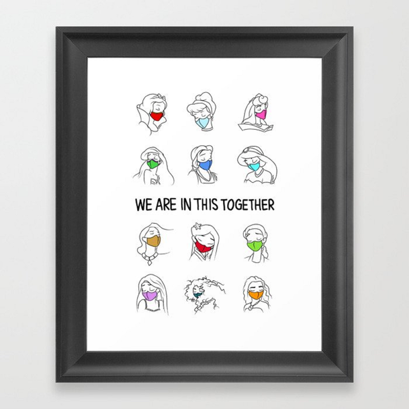 Free Printable: We Are In This Together Art Print